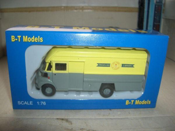 B T Models DA-29 DA29 Leyland FG Van Mobile Library Yorkshire West Riding